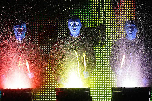 Blue Man Group Family New Year's Eve at Briar Street Theater