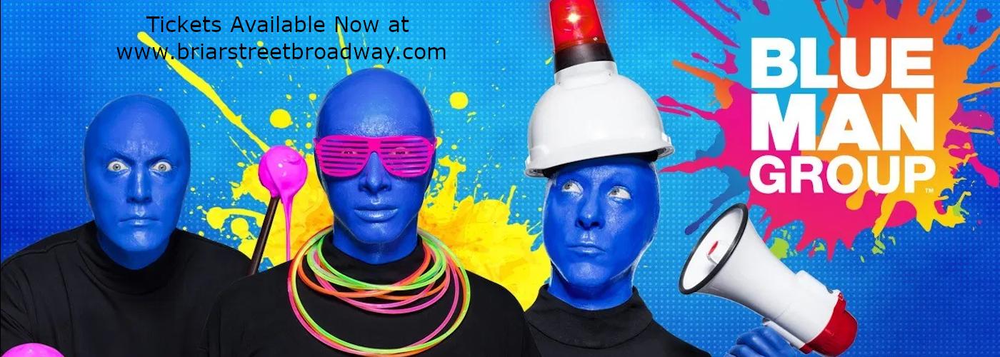 blue man group briar theatre